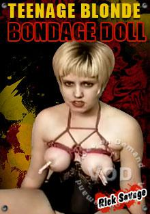 Teenage Blonde Bondage Doll