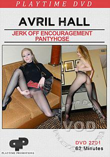 Avril Hall Jerk Off Encouragement Pantyhose