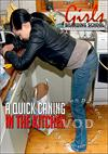 A Quick Caning In The Kitchen