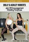 Dolly & Ashley Roberts Jerk Off Encouragement Wrestling Pantyhose